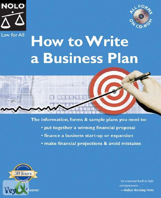 to write a business plan