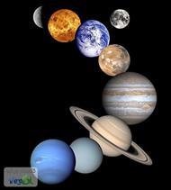 دانلود کتاب مشخصات کلی ستاره خورشید و نه سیاره منظومه شمسی