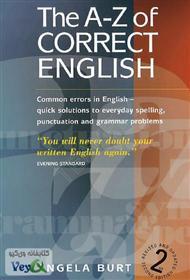 دانلود کتاب انگلیسی صحیح از A تا Z؛ اشتباهات رایج زبان انگلیسی