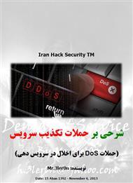 دانلود کتاب شرحی بر حملات تکذیب سرویس - Denial of Service Attacks