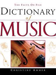 دانلود کتاب دیکشنری موزیک - Dictionary of Music