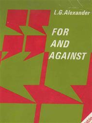دانلود کتاب آموزش زبان for and against