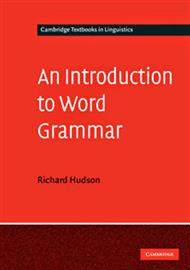 دانلود کتاب دستور زبان انگلیسی (An Introduction to Word Grammar)