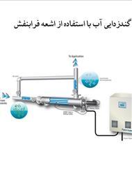 دانلود کتاب گندزدایی آب با استفاده از اشعه فرابنفش