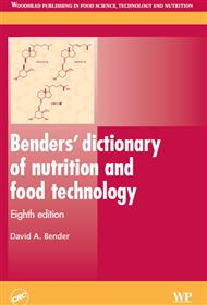 دانلود کتاب Benders' Dictionary of Nutrition and Food Technology