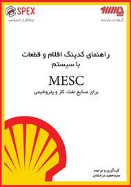 دانلود کتاب راهنمای کاتالوگینگ و کدینگ اقلام و قطعات یدکی با سیستم MESC