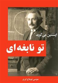 دانلود کتاب اینشتین می گوید تو نابغه ای