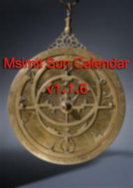 دانلود کتاب آموزش نرم افزار Msimit Sun Calendar v1.1.6