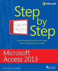 دانلود کتاب Microsoft Access 2013 Step By Step
