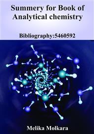دانلود کتاب Summery for Book of Analytical chemistry