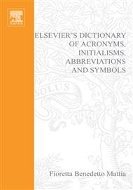 دانلود کتاب دیکشنری کلمات اختصاری، نمادها و مخففهای انگلیسی