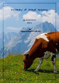 دانلود کتاب دیکشنری تخصصی علوم دامی - ویرایش پنجم