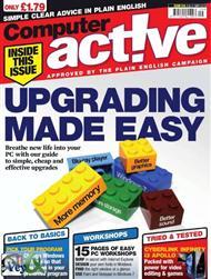 دانلود مجله کامپیوتر فعال - Computer Active upgrading made easy