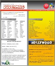 دانلود مجله آموزش زبان دود شماره 13 - Dude! English Issue