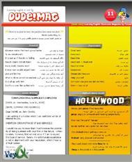 دانلود مجله آموزش زبان دود شماره 11 - Dude! English Issue