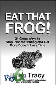 دانلود کتاب قورباقه را قورت بده! ( 21 روش عالی غلبه بر تنبلی و انجام بشترین کار در کمترین زمان )