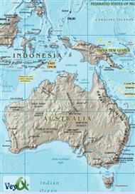 دانلود کتاب نقشه جغرافیای اقیانوسیه - Geography Map of Oceania