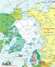دانلود کتاب نقشه جغرافیایی قطب شمال