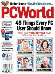 دانلود مجله پی سی ورلد - PC World Magazine September 2010