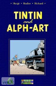 دانلود کتاب Tintin and Alph Art - تنتن و هنر الفبا