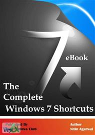 دانلود کتاب کلید های میانبر در ویندوز هفت - Windows 7 Keyboard ShortCut