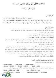 دانلود کتاب ساخت فعل در زبان تالشی (گویش ماسال)
