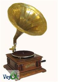 دانلود کتاب تاریخچه گرامافون و صفحه موسیقی در ایران