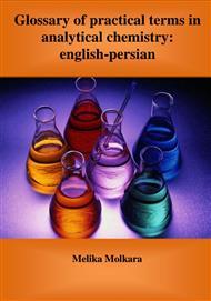 دانلود کتاب Glossary of practical terms in analytical chemistry: english - persian