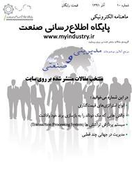 دانلود مجله الکترونیکی مقالات مدیریتی و صنعتی - شماره دهم