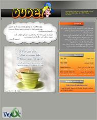 دانلود مجله آموزش زبان دود شماره 1 - Dude! English Issue