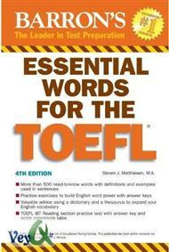 دانلود کتاب لغات ضروری آزمون تافل Essential words for the toefl